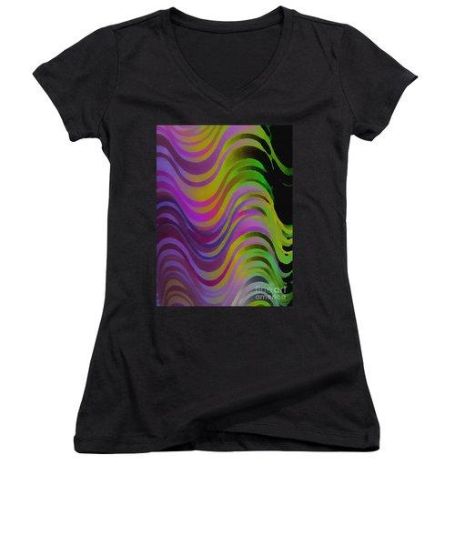 Making Waves Women's V-Neck T-Shirt
