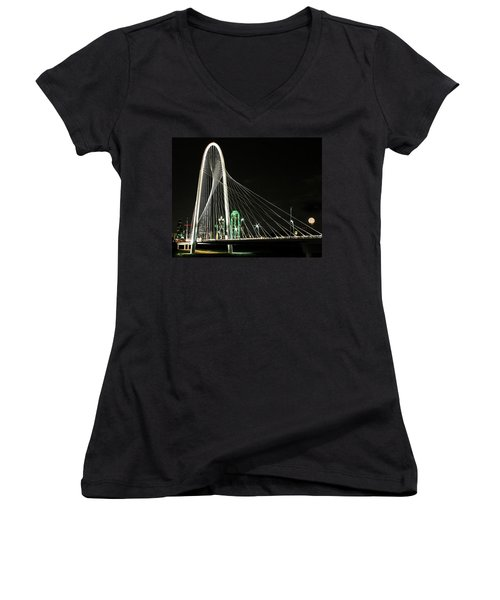 Margaret Hunt Hill Bridge Women's V-Neck