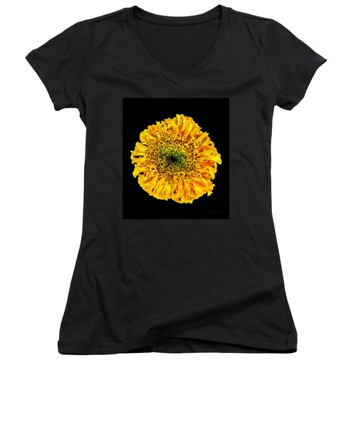 Marigold Women's V-Neck (Athletic Fit)
