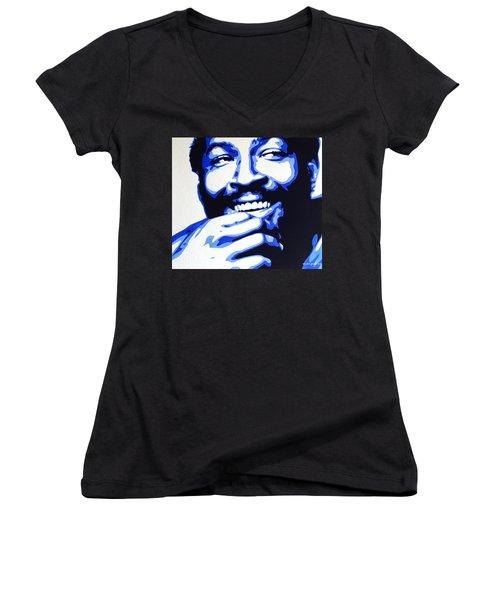 Marvin Gaye Women's V-Neck T-Shirt