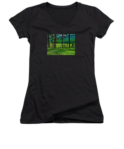 Meadow 8 Women's V-Neck (Athletic Fit)