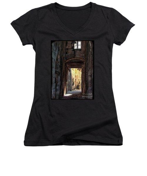Medieval Alley Women's V-Neck T-Shirt