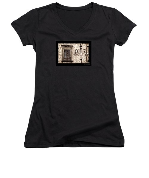 Medieval And Modern Women's V-Neck T-Shirt