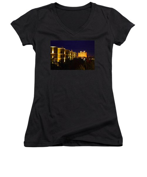 Mexico Nights Women's V-Neck (Athletic Fit)