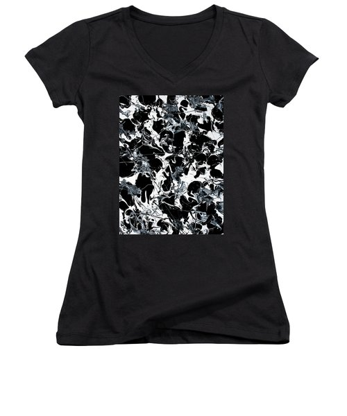 Microscopic Alien Fish Are Eating Away At My Brain Women's V-Neck (Athletic Fit)