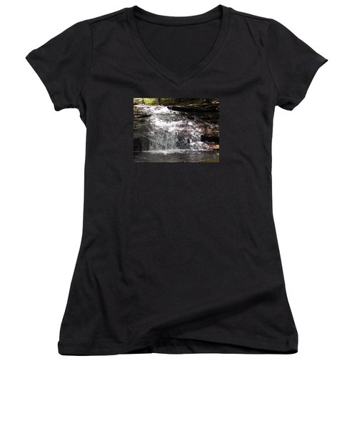Middle Chapel Brook Falls Women's V-Neck (Athletic Fit)
