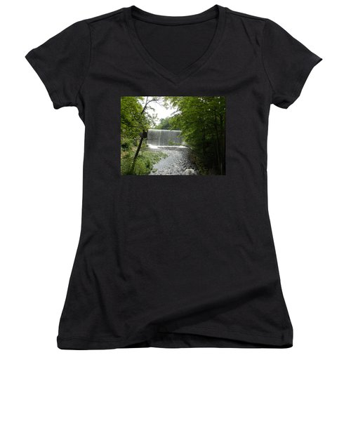 Mill River Women's V-Neck (Athletic Fit)