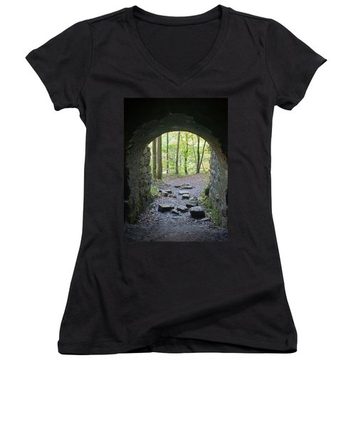 Miners View Women's V-Neck (Athletic Fit)