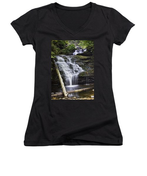 Mohican Falls Women's V-Neck (Athletic Fit)
