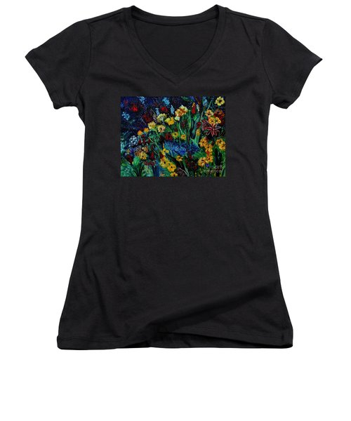 Moms Garden II Women's V-Neck (Athletic Fit)