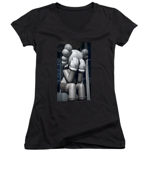 Monday Already? Women's V-Neck T-Shirt (Junior Cut)