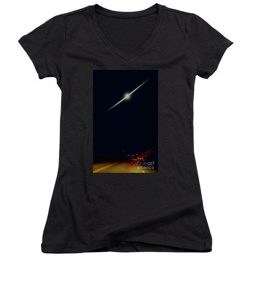 Moondate Women's V-Neck T-Shirt