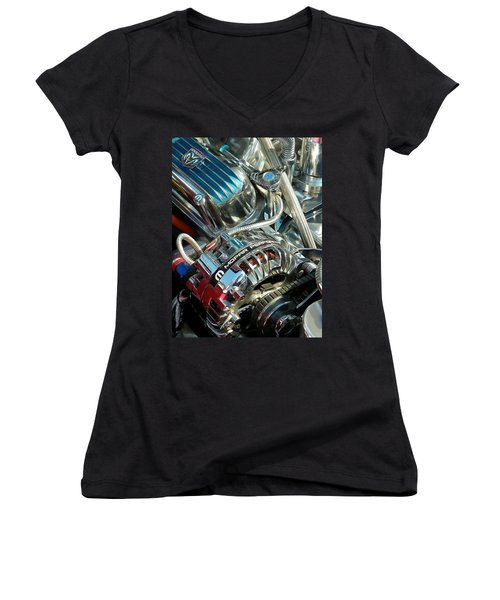 Mopar In Chrome Women's V-Neck (Athletic Fit)