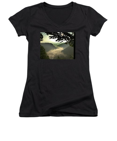 Morning Fog Women's V-Neck T-Shirt
