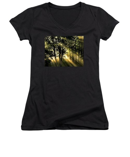 Morning Warmth Women's V-Neck T-Shirt