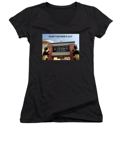 Mothers Day Women's V-Neck (Athletic Fit)