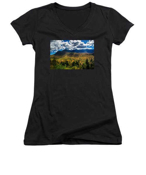 Mount Osceola 1 Women's V-Neck T-Shirt