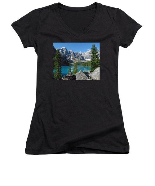 Mountain Magic Women's V-Neck T-Shirt