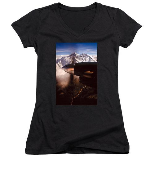 Mt. Everest Women's V-Neck (Athletic Fit)