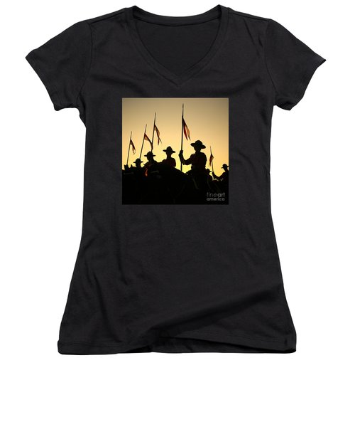 Musical Ride Women's V-Neck (Athletic Fit)