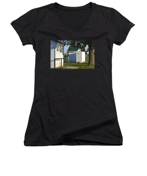 Boys Outhouse Women's V-Neck (Athletic Fit)