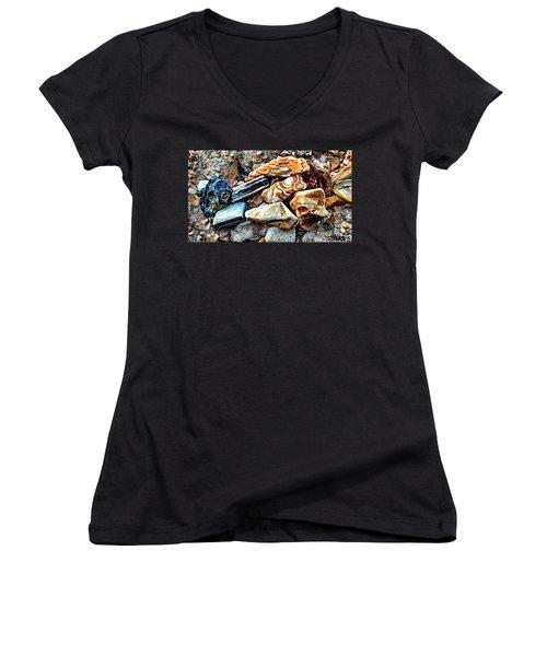 Nature Rocks Women's V-Neck T-Shirt