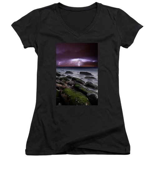 Nature's Splendor Women's V-Neck T-Shirt