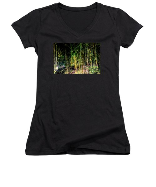Negative Forest Women's V-Neck