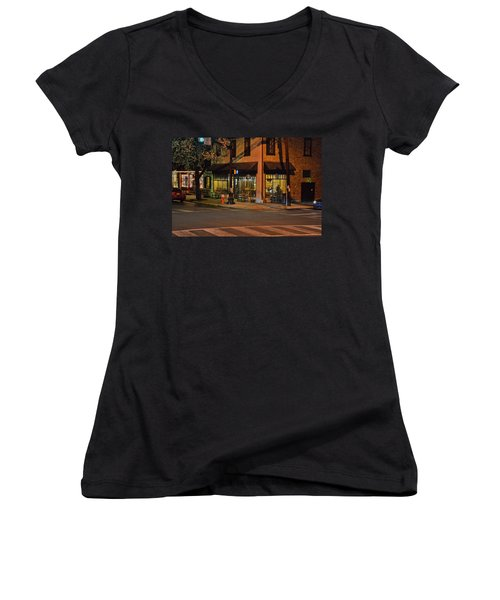 Newtown Nighthawks Women's V-Neck