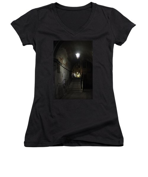Night Passage Women's V-Neck (Athletic Fit)