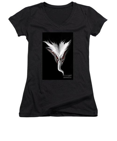 Night Terror Women's V-Neck T-Shirt