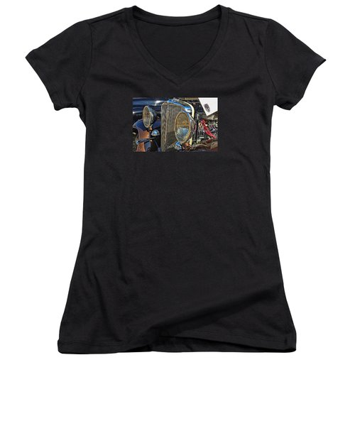 Night Vision Women's V-Neck T-Shirt