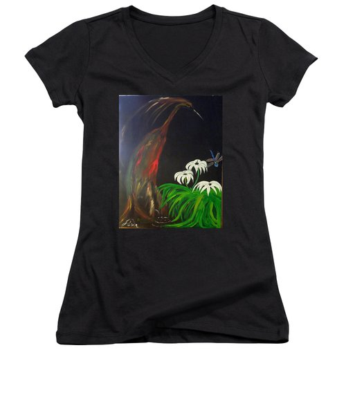 Night Watch Women's V-Neck (Athletic Fit)
