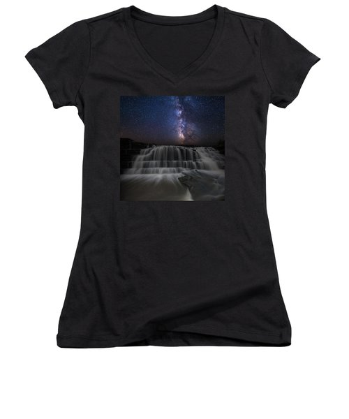 Nightfall Women's V-Neck