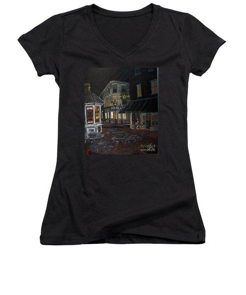 Nighthawk  Women's V-Neck T-Shirt