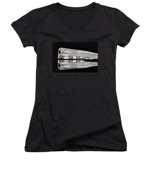 Nighttime Reflections Women's V-Neck T-Shirt
