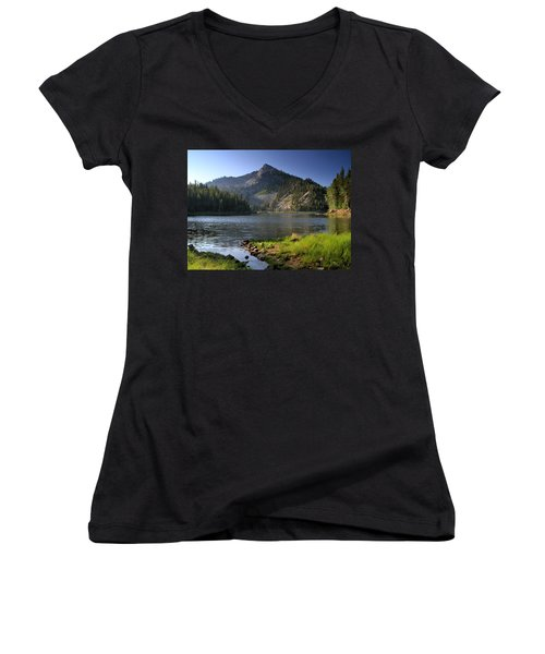 North Face Of Jughandle Mountain Women's V-Neck