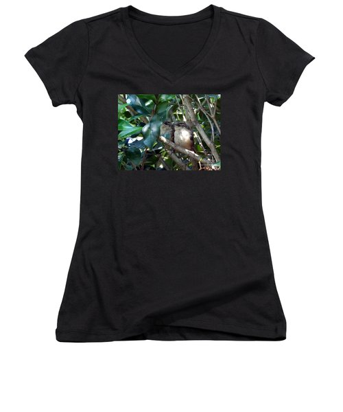 Now What Women's V-Neck T-Shirt