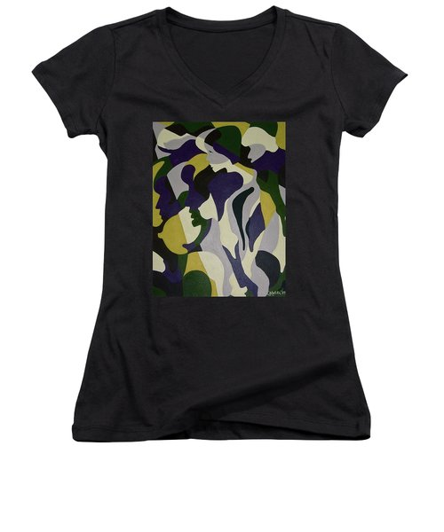 Nude9 Women's V-Neck T-Shirt