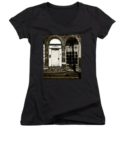 Number 104 Women's V-Neck T-Shirt