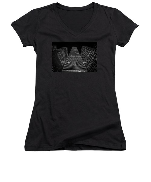 Nyc Forefront Women's V-Neck (Athletic Fit)