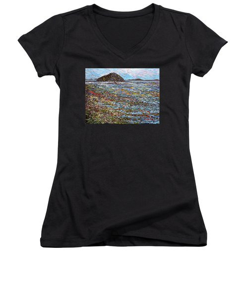 Oak Bay - Low Tide Women's V-Neck