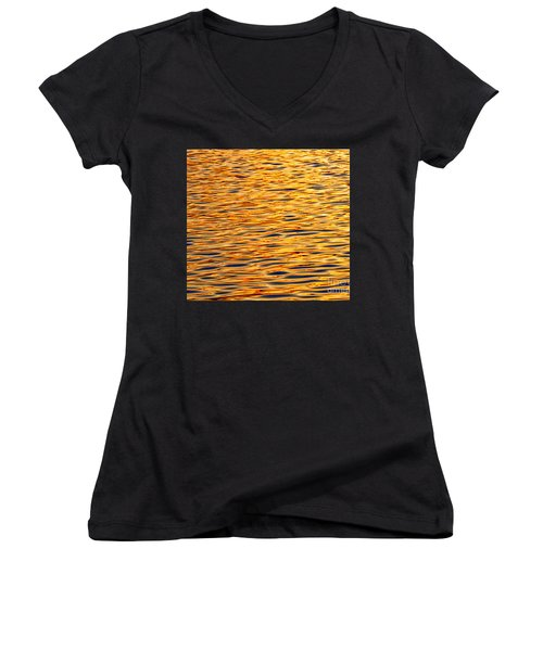 Ocean Sunset Women's V-Neck T-Shirt