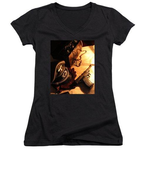 Officer's Option   Women's V-Neck T-Shirt