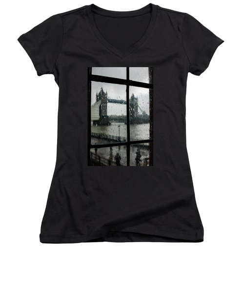 Oh So London Women's V-Neck T-Shirt