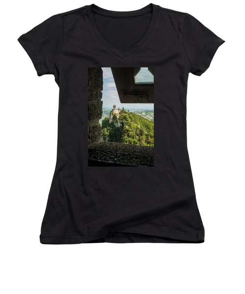 On The Inside Women's V-Neck T-Shirt