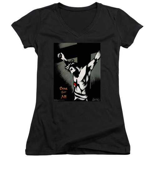 One For All Women's V-Neck