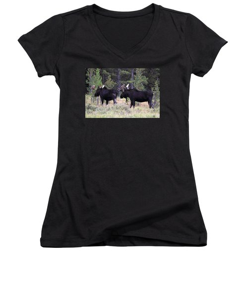 Only A Step Behind Women's V-Neck