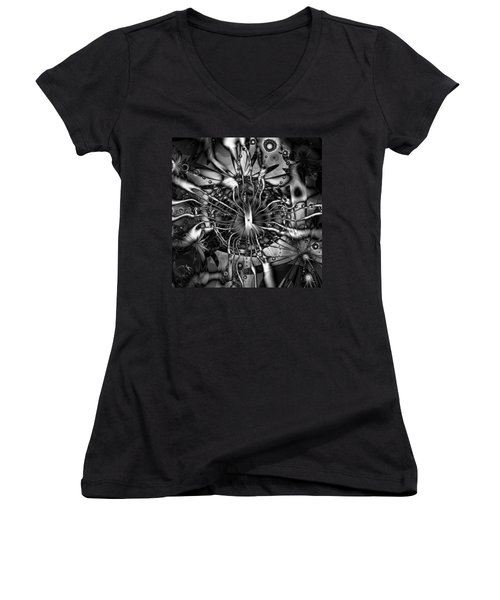 Only At Night Women's V-Neck