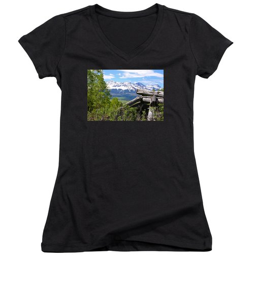 Only The Structures Crumble Women's V-Neck (Athletic Fit)